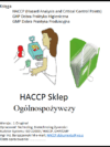 HACCP Sklep Ogólnospożywczy