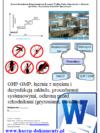 GHP GMP Gastronomia z półproduktów