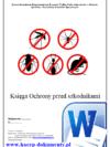 Księga Ochrony przed szkodnikami dla Szkoły Przedszkola