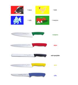 Noże i narzędzia kuchenne a HACCP