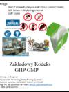 Zakładowy Kodeks GHP GMP