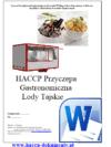 HACCP Przyczepa Gastronomiczna Lody Tajskie